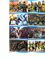 Marvel  75th Anniversary X-Men Evolution  XE1- XE13 cards YOU PICK ONE