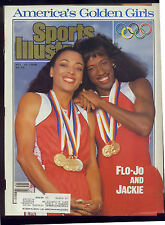 October 10 1988 Florence Griffith Joyner Jackie Olympics Sports Illustrated OLD