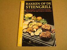 BOEK / BAKKEN OP DE STEENGRILL - ROSEMARIE DONHAUSER