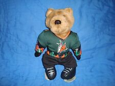 "Phoenix Arizona Coyotes 11"" Plush & Beans Bear"