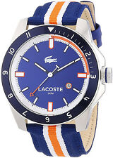 Lacoste 2010700 Durban Blue Dial Durban Nylon Strap Men's Watch