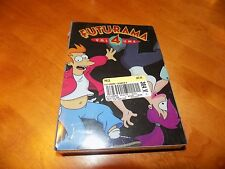 FUTURAMA VOLUME 4 Animated TV Classic Series Television 4 DVD SET SEALED NEW