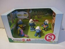 5 Schlümpfe The Smurfs 1990-1999 Edition Display OVP