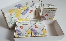 Caswell-Massey FREESIA Soaps 3 cakes x 3.25 oz FLORAL