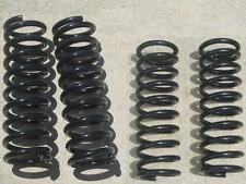 "1958 - 1964 Chevy Full Size Car 2.5"" Rear + 1"" Front Drop Lowering Coil Springs"
