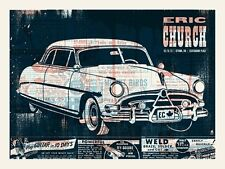 Eric Church Ottawa ON Canada 2013 Poster Signed & Numbered #/80