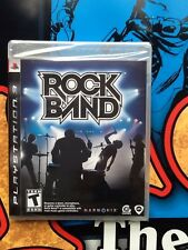 Playstation 3 Rockband Game SEALED Brand New