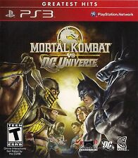 Mortal Kombat vs. DC Universe Greatest Hits PS3