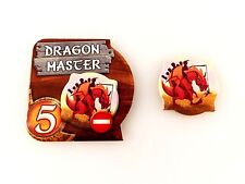 Small World Replacement Dragon Master Special Power Badge & Dragon Token Set 2pc