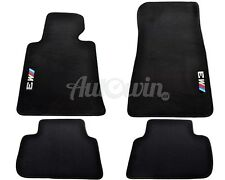 BMW M3 Series E46 Black Carpets With ///M3 Emblem 1997-2004 LHD Left Hand Drive