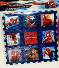1 Marvel The Amazing Spider-Man 2 Foam Play Puzzle Mat 9 Pc Puzzle NIP
