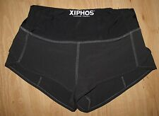 XIPHOS - NEW -  ATHLETIC EXERCISE SHORTS  - REAR ZIPPERED POCKET - X SMALL