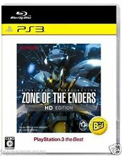 Used PS3  Zone of the Enders HD Edition SONY PLAYSTATION 3 JAPAN JAPANESE IMPORT