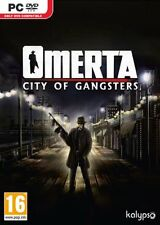 Omerta: City of Gangsters (PC-DVD) BRAND NEW SEALED