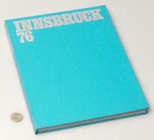 (PRL) LIBRO COLLEZIONE CONI OLIMPIADI INNSBRUCK 76 BOOK SPORT JEUX OLYMPIQUE
