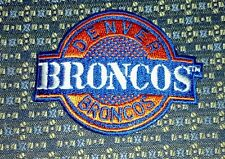 NFL DENVER BRONCOS  Iron or Sew-On Patch