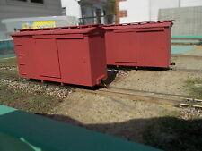 On18 14 foot Boxcar Kit 2 pack by Railway Recollections (not On30)