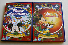 DISNEY Mickey Mouse 2 DVDs Christmas Bundle in Excellent Conditions