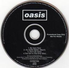 OASIS - PROMO CD - ONLY 4 TRACKS !!! - BE HERE NOW - SAMPLER - MONSTER RARE !!