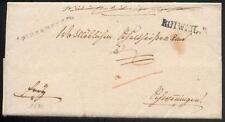 Rottweil 1839 vorphilabrief buena Type + 250 € (d1192
