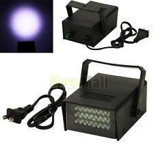 Mini DJ Strobe Light Flash Light Club Stage Lighting Party Disco 24 LED Bulb