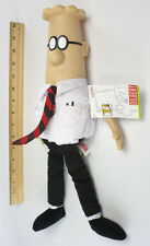 Dilbert Doll, 15 Inch Plush Doll of Comic Strip Dilbert, Brand New Free Shipping