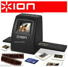 ION Film 2 SD 35mm File and Slide Scanner Transfer Convert Negatives to SD Card