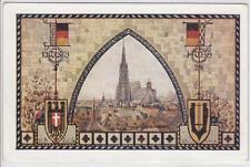AK Wien I, 10. Dt. Sängerbundfest, Künstler-AK 1928