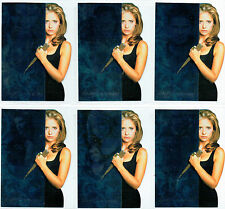 BUFFY REFLECTIONS SET OF 6 SLAYER'S JOURNAL CARDS