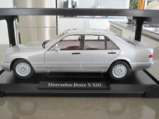 1:18 NOREV MERCEDES BENZ W140 S CLASS S320 - DEALER EDITION
