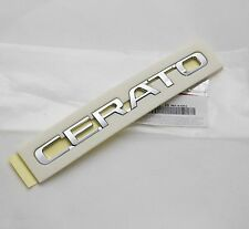 Genuine Cerato Lettering Trunk EMBLEM Badge 1Pcs (Fit: KIA CERATO FORTE)