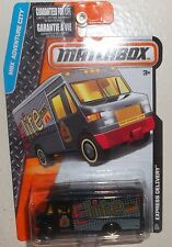 MATCHBOX ADVENTURE CITY ☆ EXPRESS DELIVERY VAN ☆ CARDED 2016 ☆ #21/125