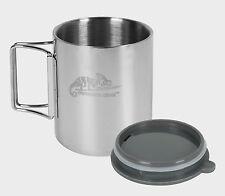 Helikon metal thermal travel cup 250 ml mug stainless steel camping leak proof