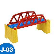 NEW STYLE TOMY THOMAS TRAIN RAIL SCENIC PART- J-03 IRON BRIDGE 381006