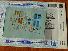 Microscale Decal N  #60-289 Structure Signs-Industrial Company Names