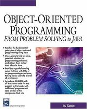 Object-Oriented Programming (From Problem Solving to JAVA) (Charles River Media
