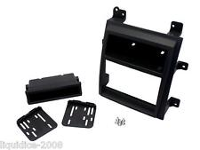 CT23CA04 CADILLAC ESCALADE BLACK 2007 -2013 DOUBLE DIN FASCIA FACIA ADAPTER KIT