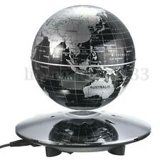 "6"" Floating Magnetic Levitation Educational Globe Earth Map Home Office Decor"
