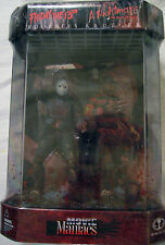 McFarlane Movie Maniacs Freddy Krueger Vs Jason Vorhees Fish Tank Action Figures