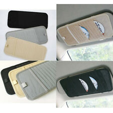 Sun Visor CD DVD Holder Case Pocket Organizer Car Accessories Interior Black