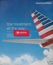 AMERICAN AIRLINES 2015 STAR TREATMENT ALL THE WAY FLAGSHIP LOUNGE LAX & JFK AD
