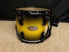 """Pearl Reference 12"""" Diameter  X 9"""" Deep Mounted Tom/Inca Gold Burst# 302/New"""