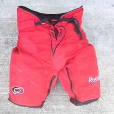 Reebok HP7000 Pro Stock NHL Hockey Pants Carolina Hurricanes Large 2193