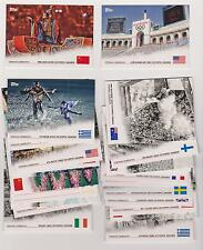 RARE 2012 TOPPS OLYMPIC OPENING CEREMONY COMPLETE 26 CARD SET ~ATHENS TO BEIJING