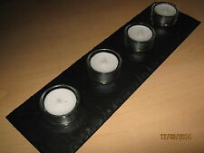 Welsh Natural Slate with four Tea Holders and Lights-Beautiful Mothers Day Gift