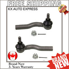 FRONT LEFT & RIGHT OUTER STEERING TIE ROD END KIT FOR MAZDA 6 2003 - 2008