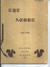 Milford MI Milford High School yearbook 1946 Michigan (Includes grades 12-K)