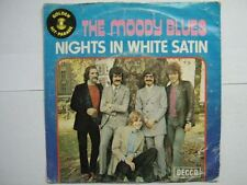 THE MOODY BLUES 45 TOURS BELGIQUE NIGHTS IN WHITE SATIN+