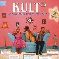 KULT 3-DIE BESTEN SCHLAGER FOLGE 2 3 CD BOX NEU