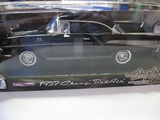 1:18 MOTORMAX TIMELESS CLASSICS 1957 CHEVY BEL AIR DIECAST BLACK